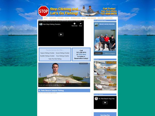 Non Stop Fishing Charters Before